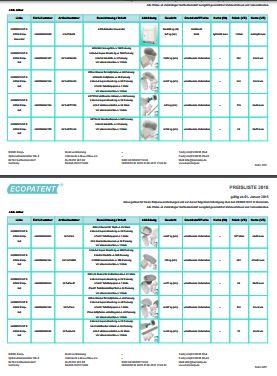 Ecopatent Preisliste